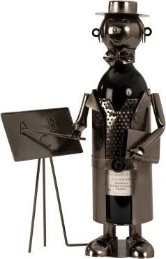 Kovový stojan na víno Učiteľ