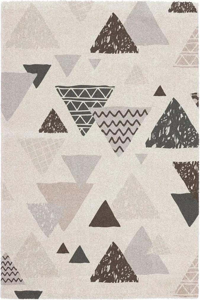 Obsession koberce Kusový koberec Bronx 542 WHITE - 80x150 cm