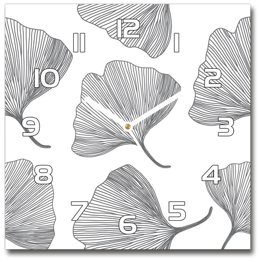 Sklenené nástenné hodiny štvorec Jinan pl_zsk_30x30_f_70762265