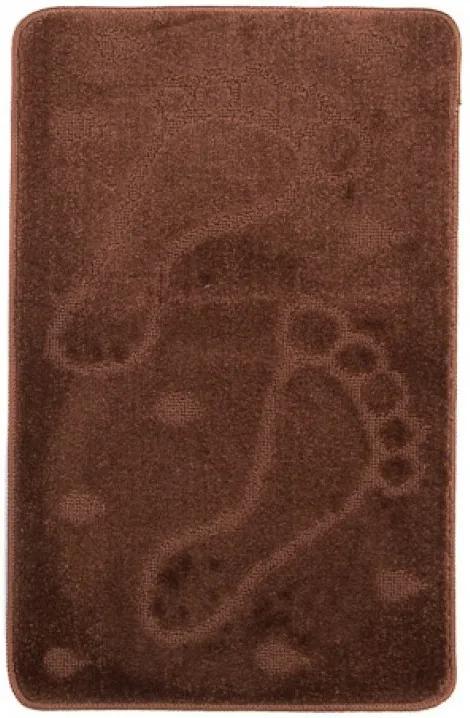 Kúpeľňová predložka 1001 hnedá, Velikosti 50x80cm