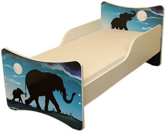 MAXMAX Detská posteľ 180x80 cm - AFRIKA 180x80 pre všetkých NIE