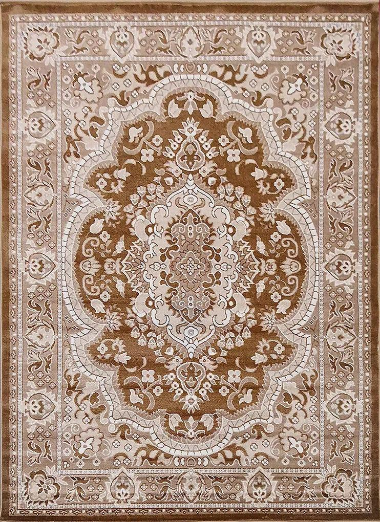 Berfin Dywany Kusový koberec Polystar 0003 Dark Beige - 120x180 cm