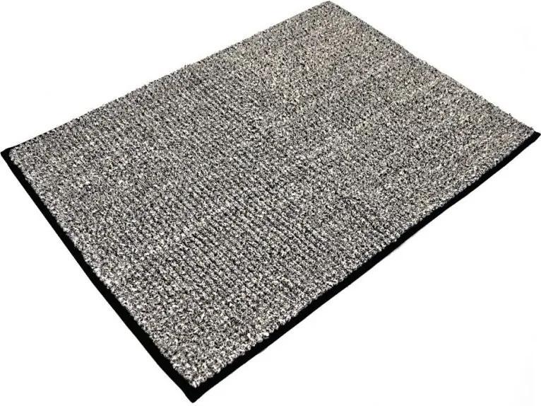 Aqualine 7021310 kúpeľňová predložka, 50x70cm, 100% polyester, protišmyk, čierna