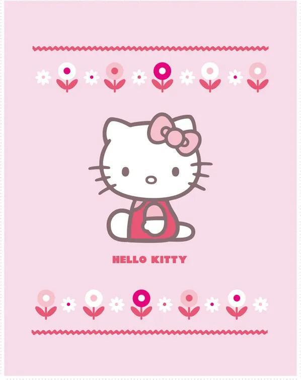 Deka Hello Kitty, 110x140 cm