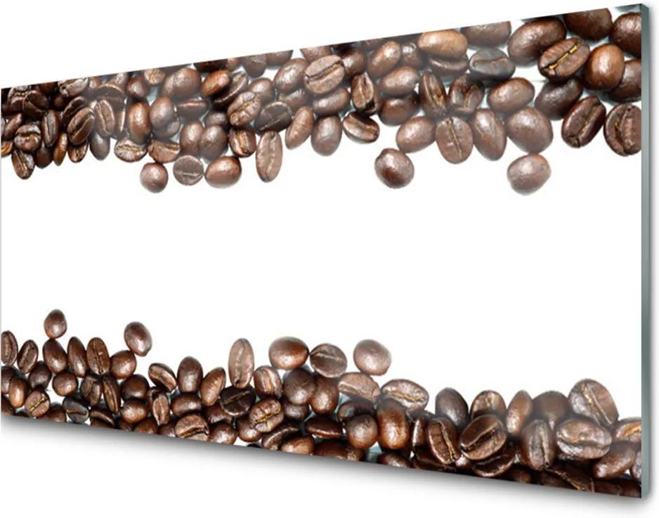 Obraz na akrylátovom skle Káva Zrnká Kuchyňa