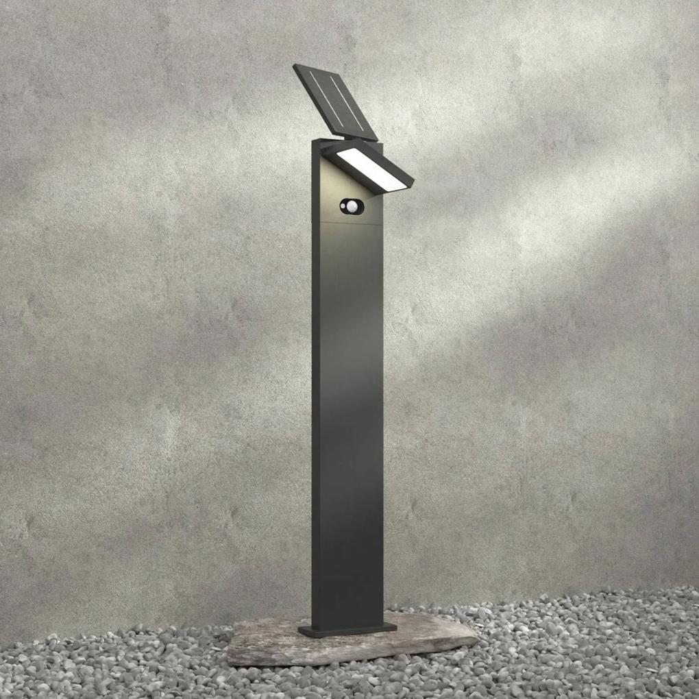 Solárne chodníkové LED Silvan snímač 100 cm