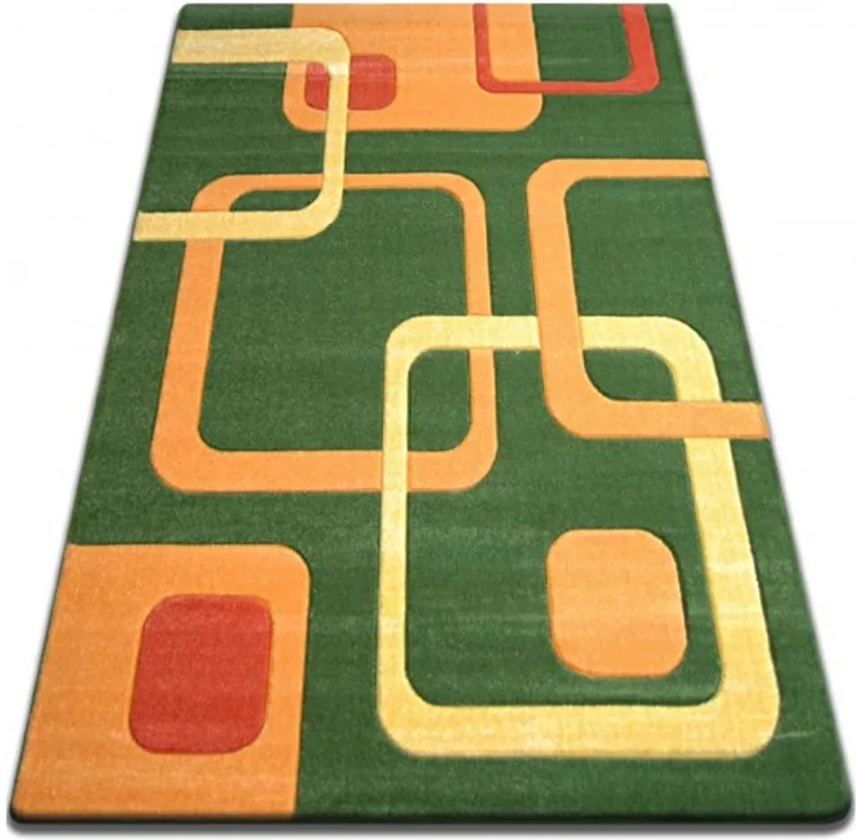 Kusový koberec Karla zelený, Velikosti 180x270cm