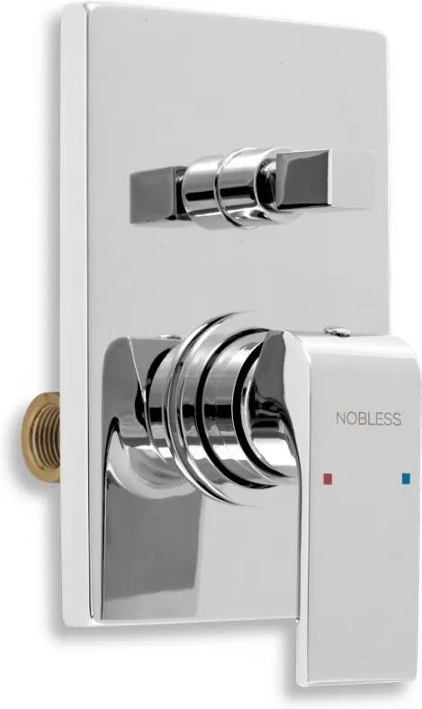 Novaservis Nobless Sharp 37050R,0 vaňová batéria podomietková