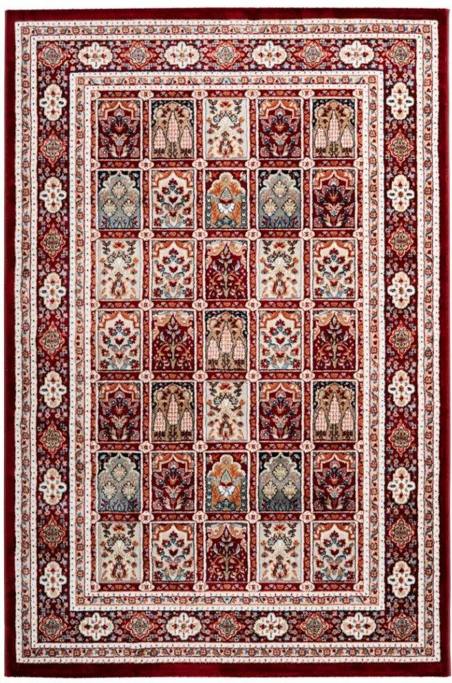 Obsession koberce Kusový koberec Isfahan 742 red - 80x150 cm