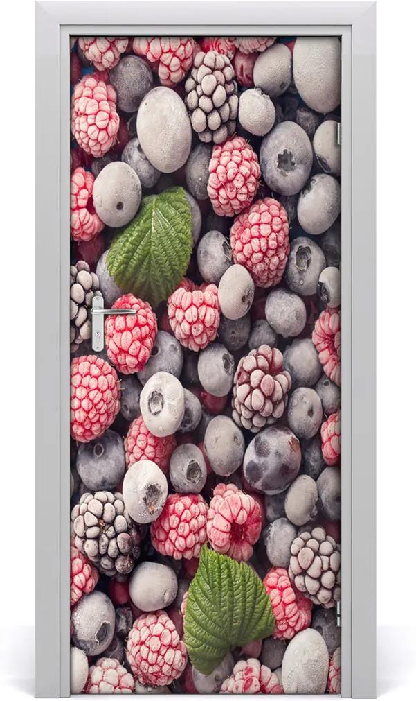 Fototapeta na dveře samolepící Mražené ovoce