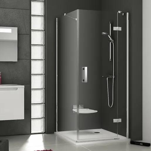 Bočná zástena k sprchovacím dverám 90x190 cm levá Ravak Smartline chróm lesklý 9SL70A00Z1