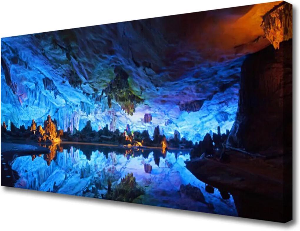 Obraz Canvas Jeskyně světlo ledovec