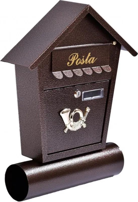 SLI 1 poštová schránka, Antická strieborná