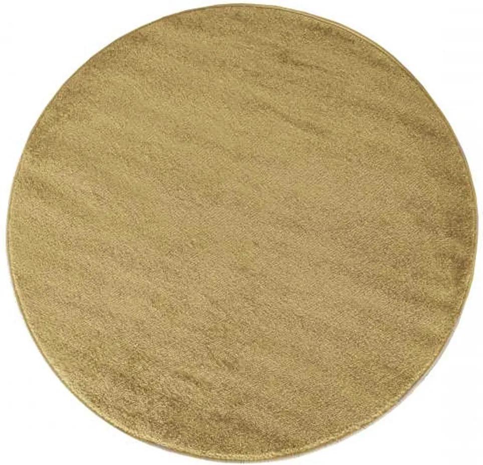 Kusový koberec Portofino svetlo hnedý kruh 80x80, Velikosti 80x80cm