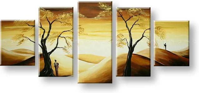 Maľovaný obraz na stenu AFRIKA FB301E5
