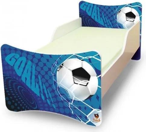 MAXMAX Detská posteľ 160x80 cm - GÓL 160x80 pre chlapca NIE