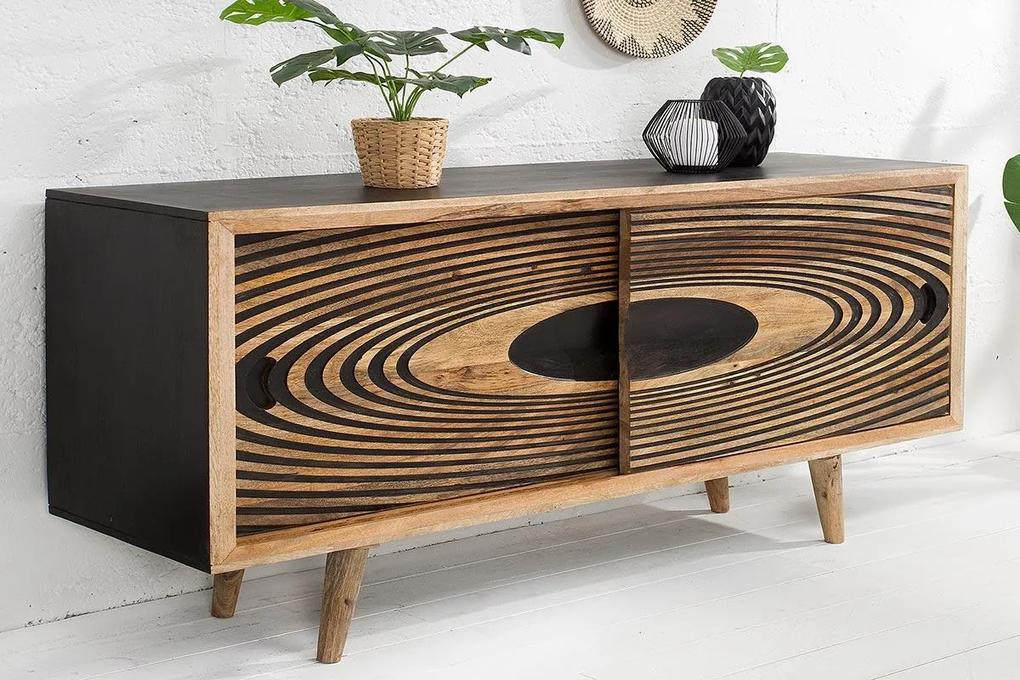 Dizajnová komoda Dallas 160 cm mango