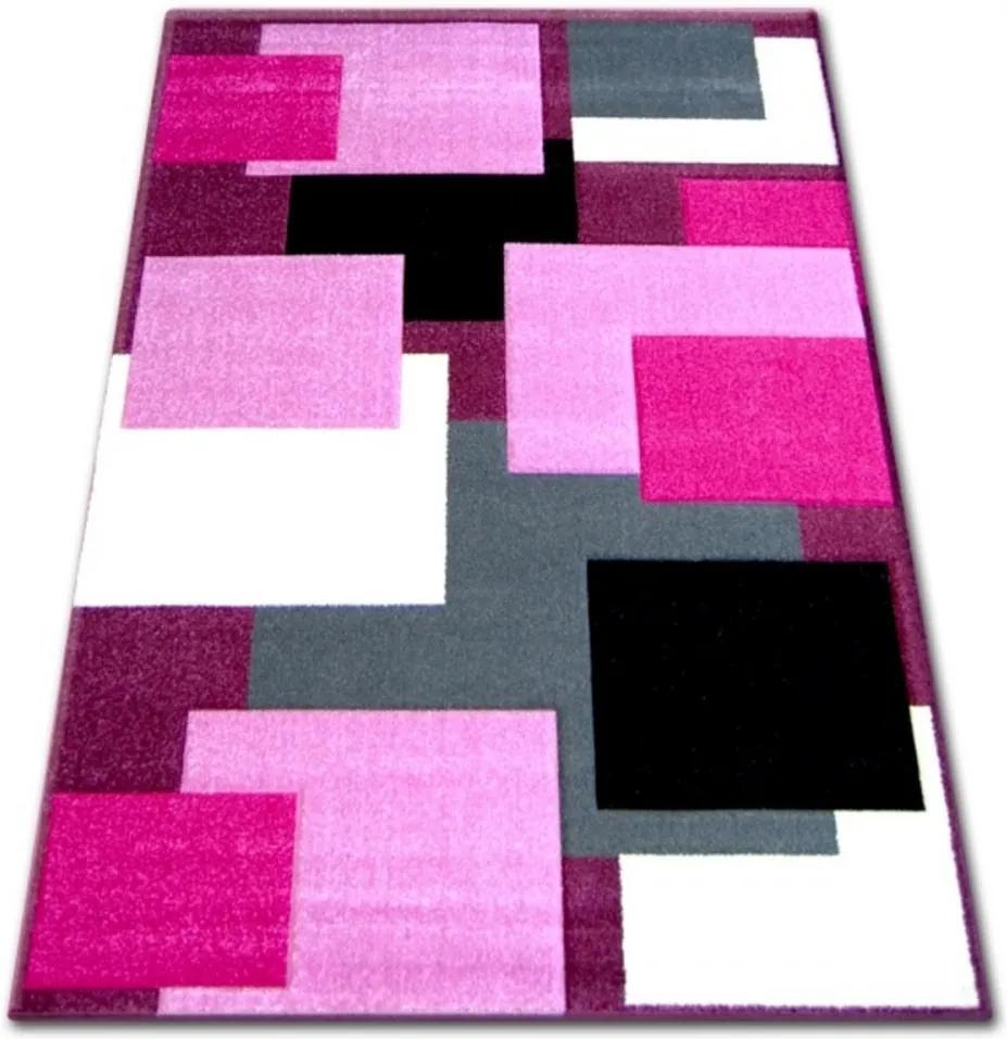 Kusový koberec Glory ružový, Velikosti 240x330cm