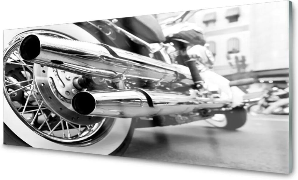 Obraz na akrylátovom skle Sklenený Motor Umenie