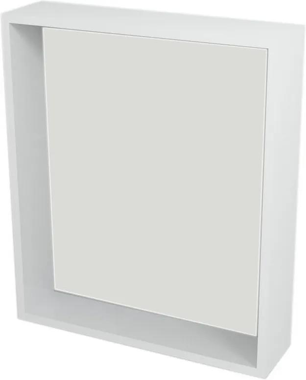 Riwa RW610 policové zrkadlo 60x70x15 cm, biele