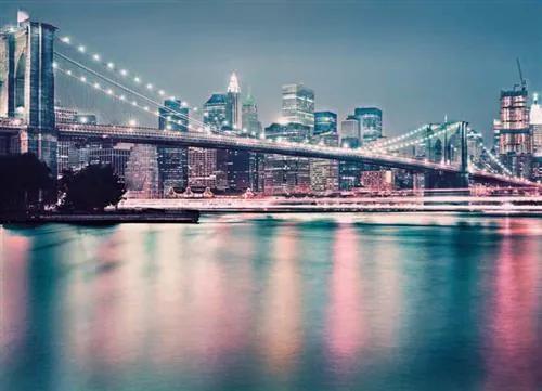 Fototapety, rozmer 368 x 254 cm, Brooklynský most, Komar 8-731