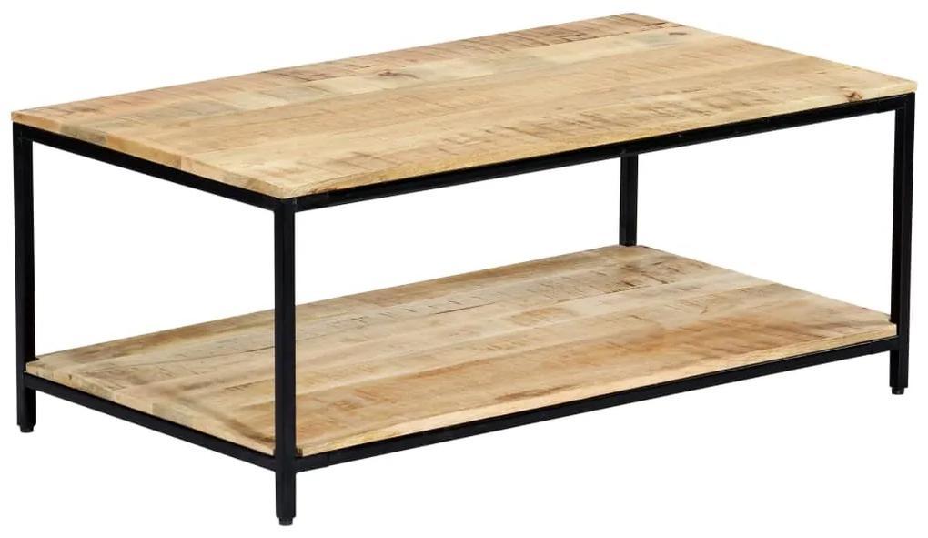 vidaXL Konferenčný stolík 100x60x45 cm masívne mangovníkové drevo