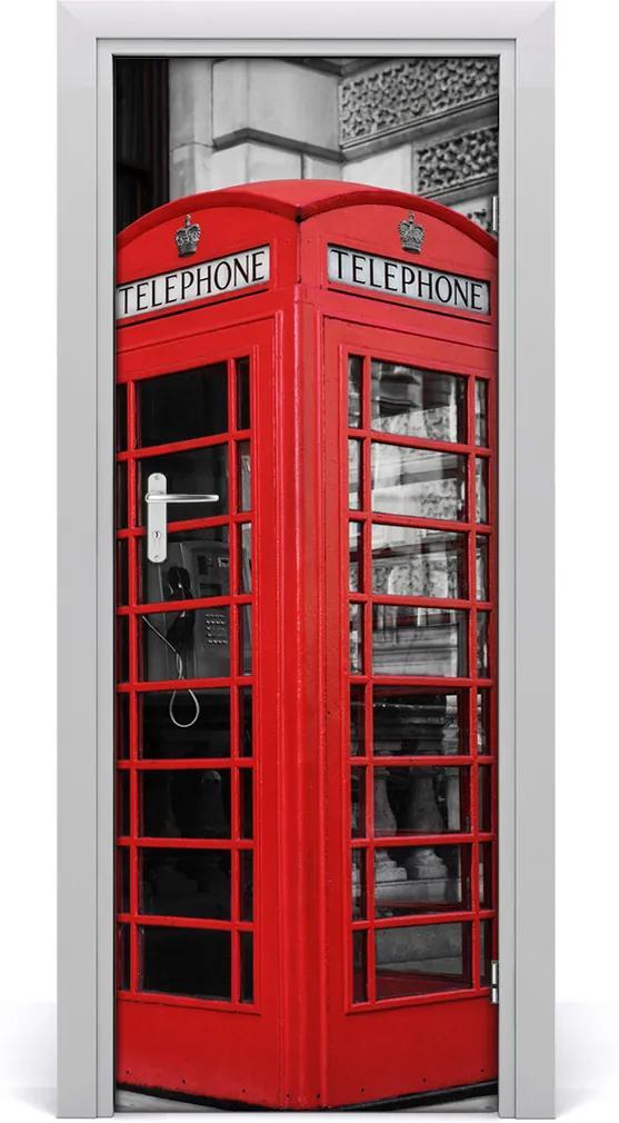 Fototapeta samolepící dveře Telefonní budka