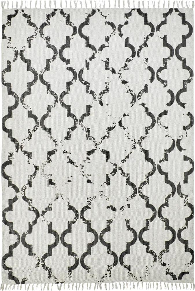 Obsession koberce AKCE: 200x290 cm Ručně tkaný kusový koberec Stockholm 341 ANTHRACITE - 200x290 cm