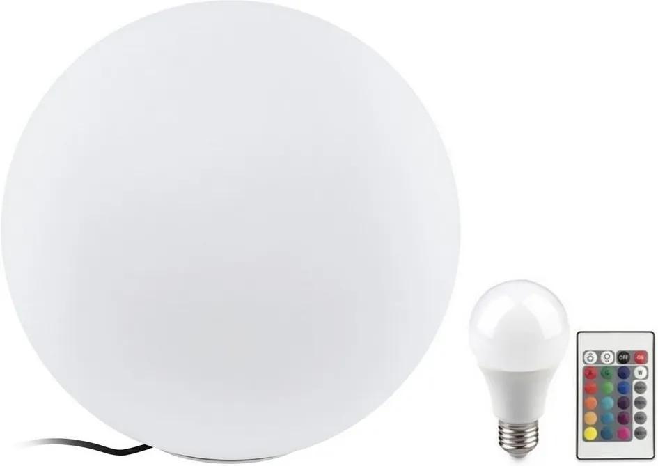 Eglo Eglo 32999 - LED RGB Vonkajšia stojacia lampa MONTEROLO 1xE27/9W/230V IP65 ø500 EG32999