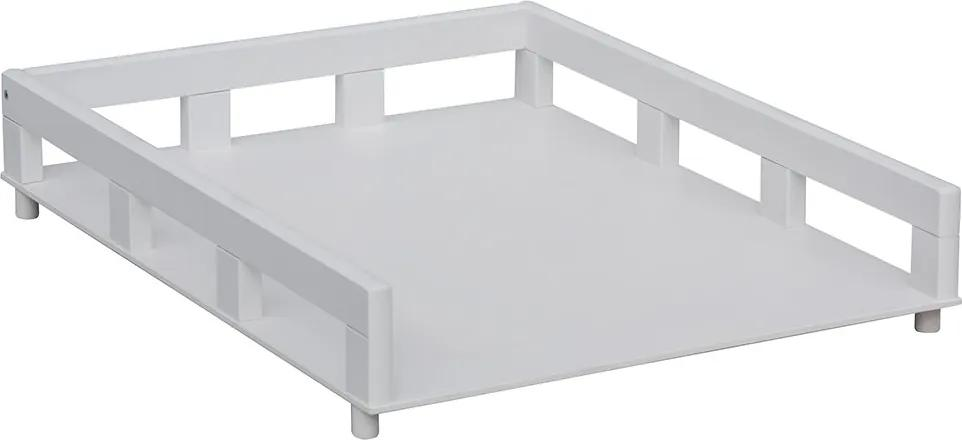 SC Prebaľovací pult na posteľ Ogy biely (buk)