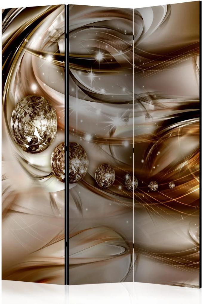 Paraván - Chocolate Tide [Room Dividers] 135x172