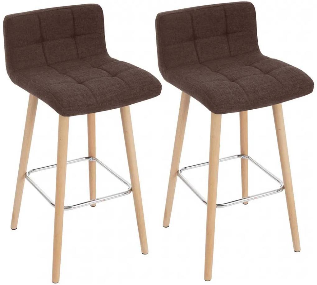 Barová stolička DS430 (SET 2 ks) látka