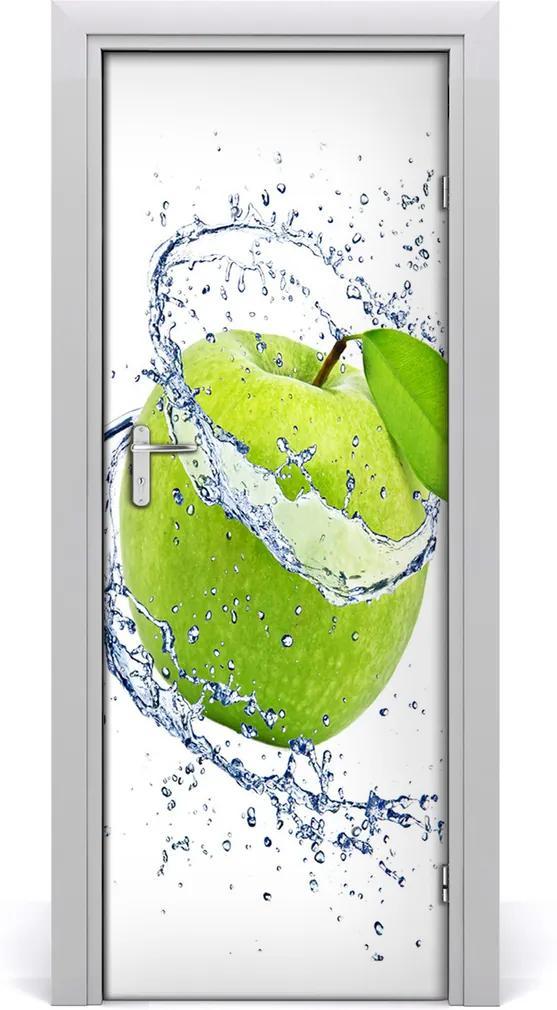 Fototapeta na dveře samolepící Zelená jablka