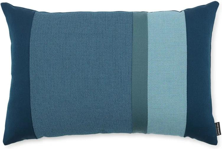 Normann Copenhagen Vankúš Line Cushion, turquoise 60x40