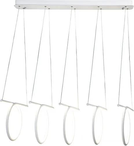 Rábalux Donatella 2549 LED Závesné Lampy biely biely LED 108W