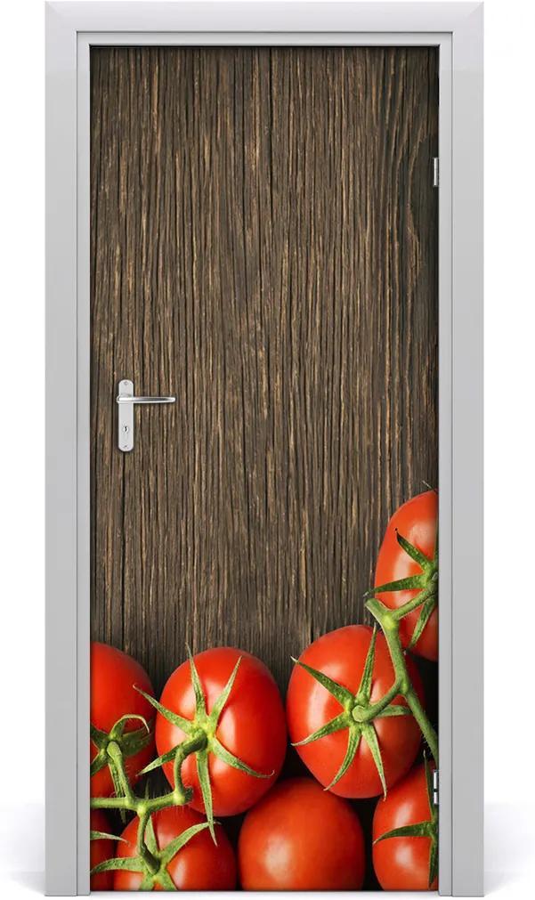 Fototapeta na dvere samolepiace  paradajky