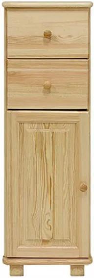 AMI nábytok komoda č23 hloubka 47 borovice