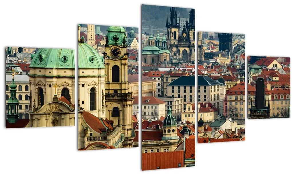 Obraz - Panorama Prahy (125x70 cm), 40 ďalších rozmerov