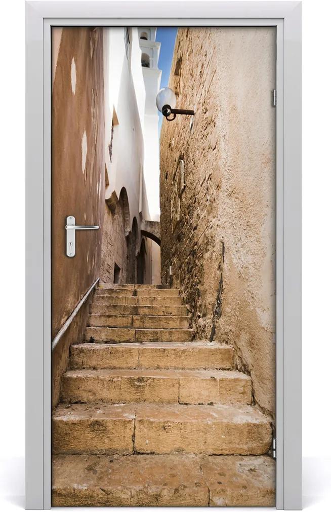 Fototapeta samolepící na dveře Izrael ulička