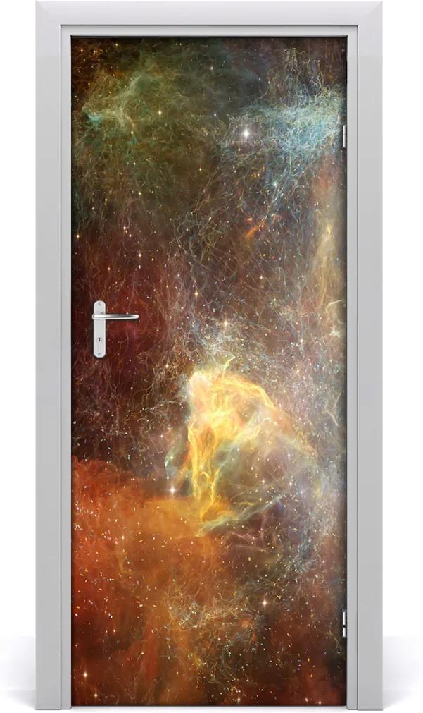 Fototapeta samolepiace na dvere  vesmír