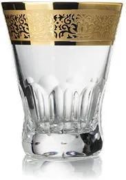 Bohemia Crystal ručne brúsené poháre na pálenku Romantic 65ml (set po