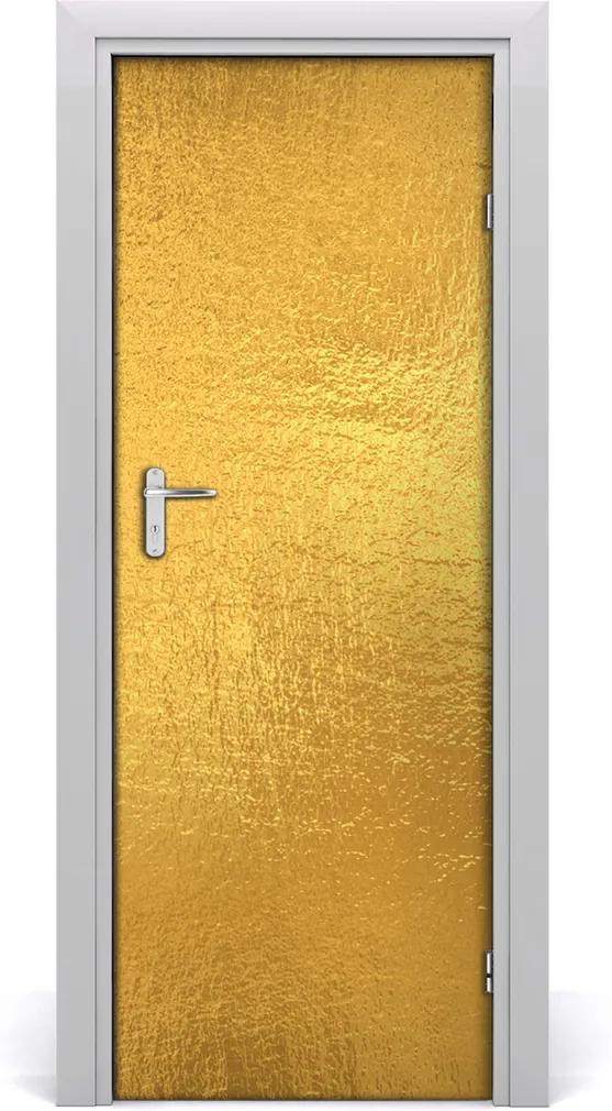 Fototapeta na dveře Zlatá folie pozadí