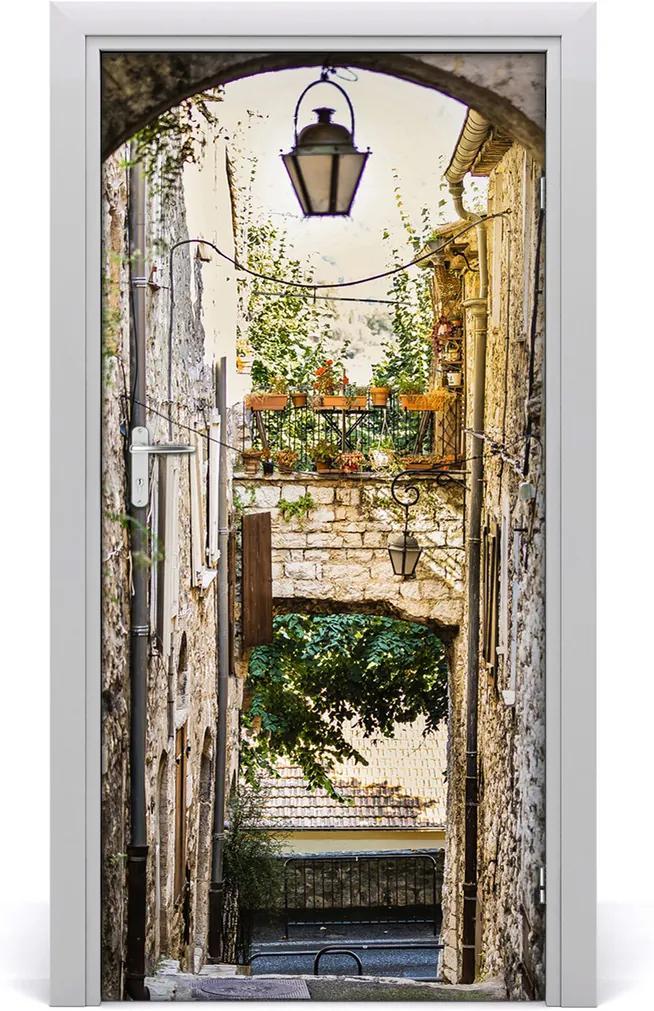 Fototapeta samolepící dveře Staré město