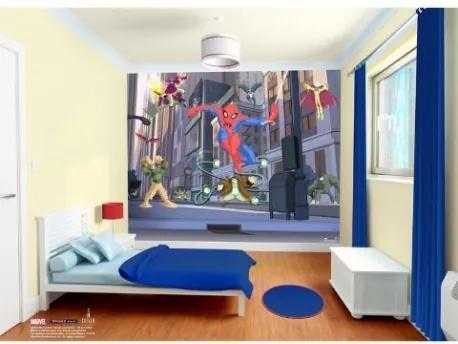 Spiderman 3D tapeta - Walltastic