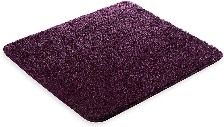 Škodák Kúpeľňová / WC predložka - vzor Pirlanta tmavo fialová - 60x50cm