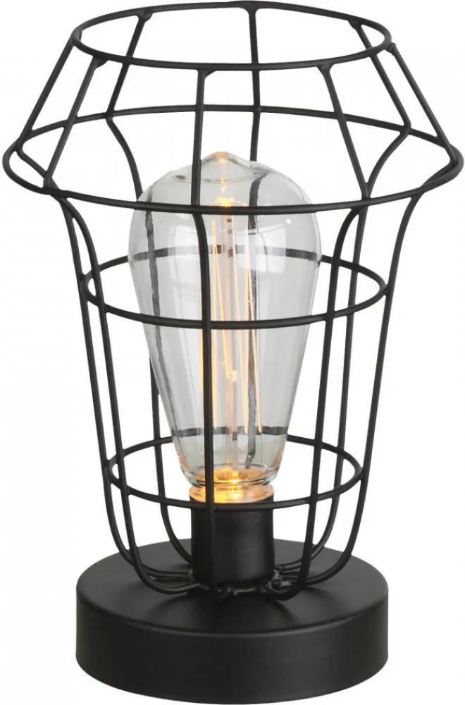Globo SPACY 28195 Nočná stolová lampa 21,5 x 15 x 15 cm