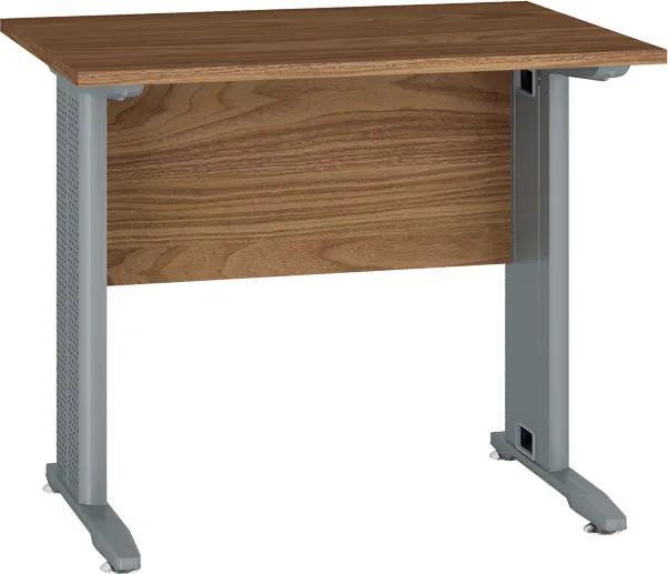 MLnábytok Kancelársky stôl OPTIMAL 16 / orech prírodný
