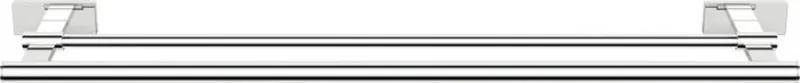 Olymp 1321-12 dvojitý držiak uterákov 550mm, chróm