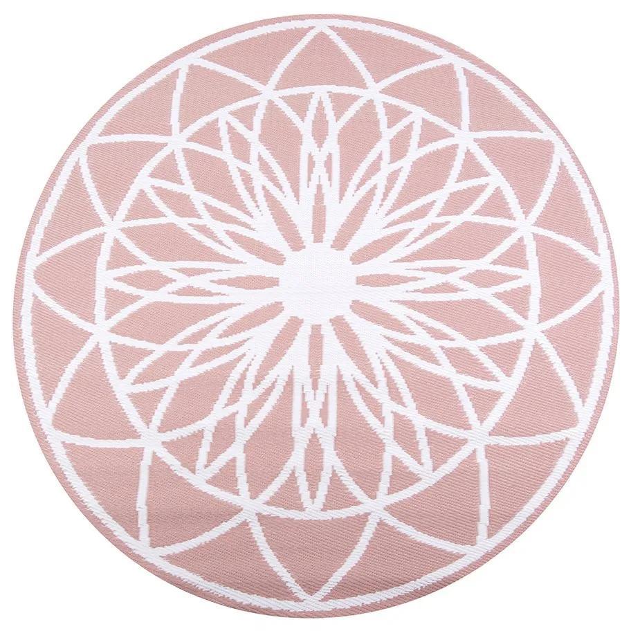 PRESENT TIME Ružový exteriérový koberec Fairytale - zl'ava 20% (VEMZUDNI20)