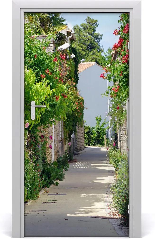 Fototapeta samolepící dveře Francouzské uličky